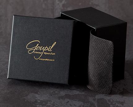 vente bijoux or argent createur goupil ecrin