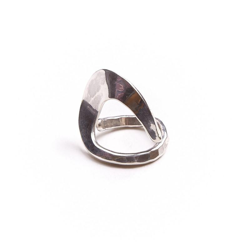 Bague argent Fluide absolu, bijoux de créateur, vente en ligne, bijouterie