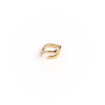 Bague plaqué or Frisson, bijoux de créateur, vente en ligne, bijouterie