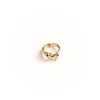 Bague plaqué or Charmeuse, bijoux de créateur, vente en ligne, bijouterie