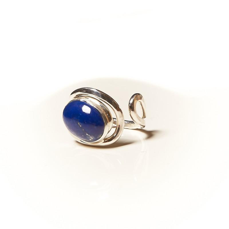 Bague argent Lapis lazuli Voluptia, bijoux de créateur, vente en ligne, bijouterie