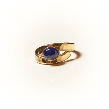 Bagues Or Avec Lapis-Lazuli