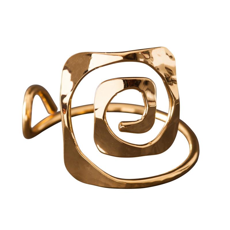 Bracelet plaqué or Grec, bijoux de créateur, vente en ligne, bijou artisanal, fabrication française
