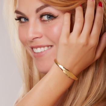 Bracelet Or Sans Pierre