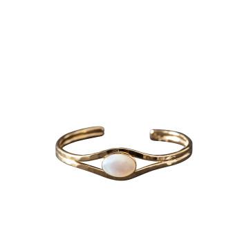 Bracelet Or Avec Nacre