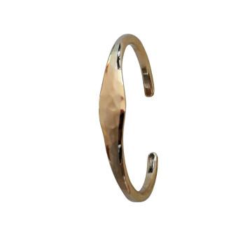 Bracelet plaqué or mat brillant, bijoux de créateur, vente en ligne, bijou artisanal, bijou fabrication française