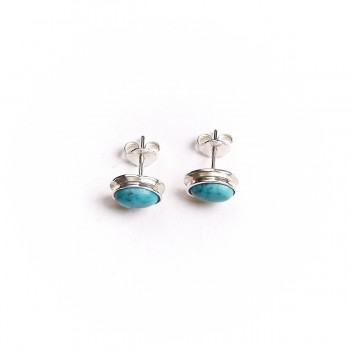 Boucles D'oreille Turquoise