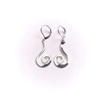 Boucles d'oreille argent Spirale 2