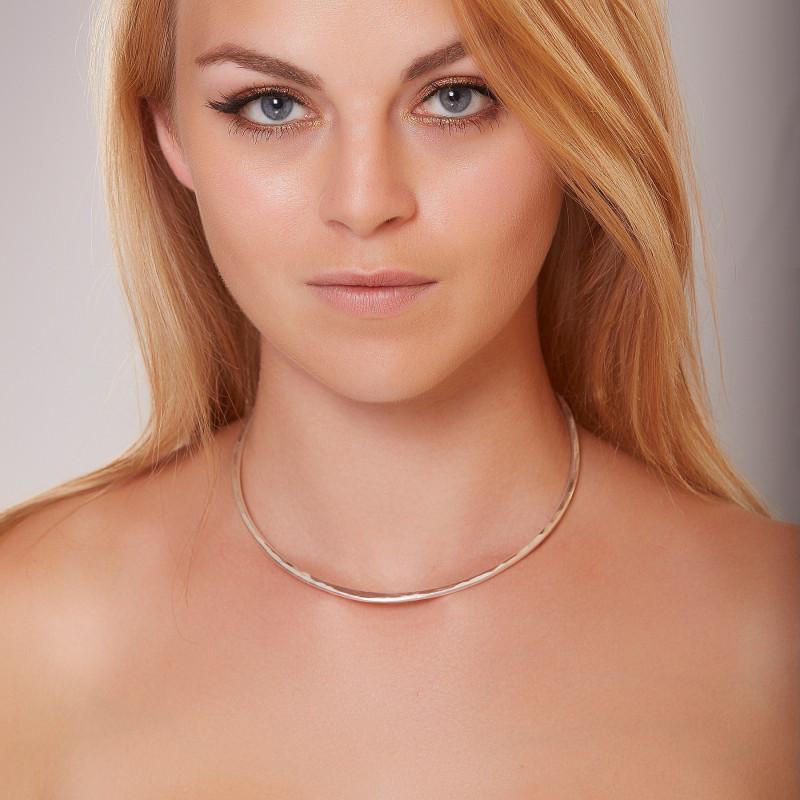 Collier argent tork, bijoux de créateur, vente en ligne, bijou artisanal, bijouterie en ligne