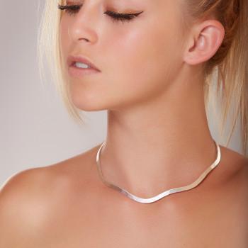 Collier argent frisson, bijoux de créateur, vente en ligne, bijou artisanal, bijouterie en ligne