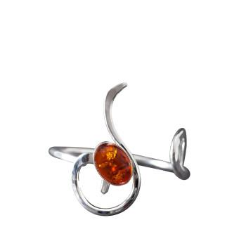 Bracelet argent ambre, bijoux de créateur, vente en ligne, bijou artisanal, bijouterie en ligne