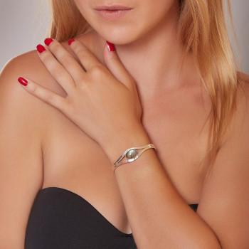 Bracelet argent labradorite Classica, bijoux de créateur, vente en ligne, bijou artisanal, bijouterie en ligne