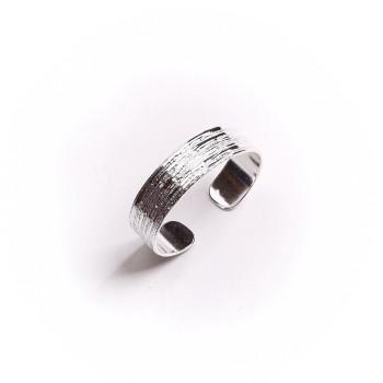 Bracelet plaqué argent Strie, bijoux de créateur, vente en ligne, bijouterie,  bijou artisanal