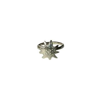 Bague argent Soleil, bijoux de createur, vente en ligne, bijouterie, bijou fabrication française