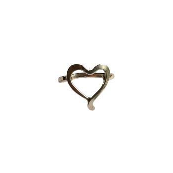 Bague argent Coeur, bijoux de créateur, vente en ligne, bijouterie