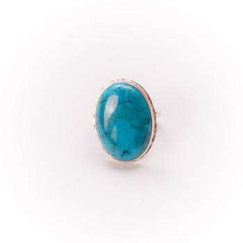 Bague argent turquoise, bijoux de créateur, vente en ligne, bijouterie, bijou artisanal