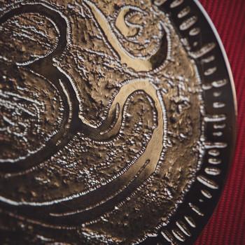 Collier plaqué or Aum hindou, bijoux de créateur, vente en ligne, bijouterie