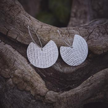 Boucles d'oreille Imprimé cuir, bijoux de créateur, bijouterie en ligne