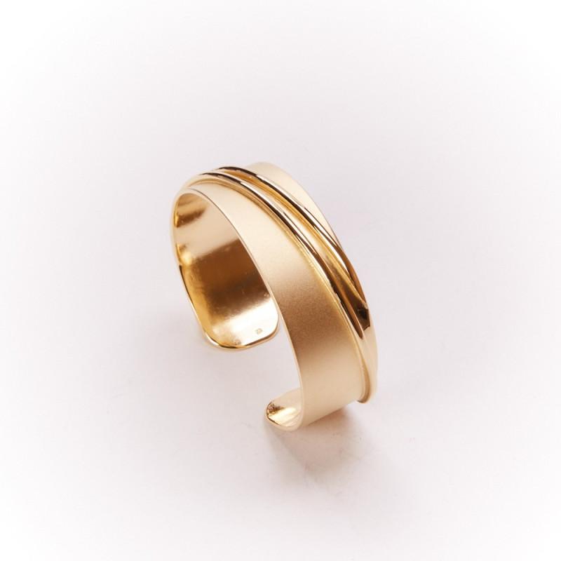 Bracelet plaqué or Ligne Pure, bijoux de créateur, bijouterie en ligne