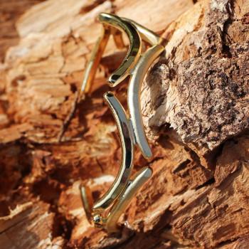 Bracelet plaqué or Les Lauriers de Venus du bijoutier créateur Ludovic GOUPIL