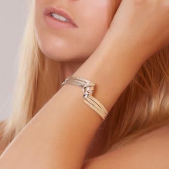 Bracelet argent Charmeuse du Bijoutier créateur Ludovic GOUPIL