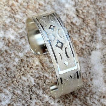 Bracelet argent Coeur d'Etoiles du bijoutier créateur Ludovic GOUPIL